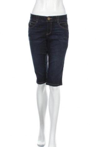 Дамски къс панталон Democracy, Размер S, Цвят Син, 84% памук, 27% вискоза, 17% полиестер, 2% еластан, Цена 19,85лв.