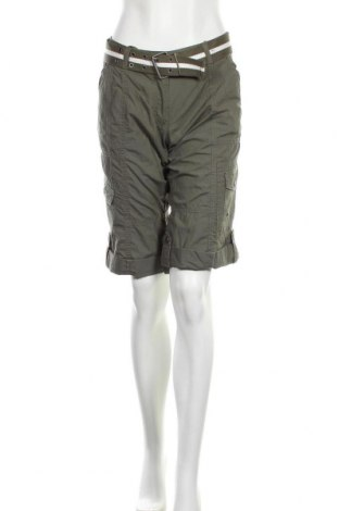Дамски къс панталон Designer S, Размер L, Цвят Зелен, Памук, Цена 24,94лв.