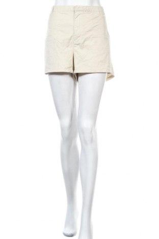 Дамски къс панталон Ellos, Размер 3XL, Цвят Бежов, 69% памук, 29% полиестер, 2% еластан, Цена 22,68лв.