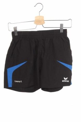 Дамски къс панталон Erima, Размер XS, Цвят Черен, Полиестер, Цена 20,79лв.