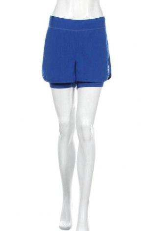 Дамски къс панталон Erima, Размер L, Цвят Син, 93% полиестер, 7% еластан, Цена 20,95лв.