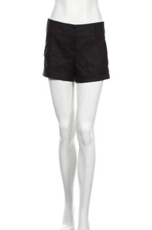 Дамски къс панталон Express, Размер S, Цвят Черен, 520% лен, 30% полиестер, 18% вискоза, 2% еластан, Цена 25,20лв.