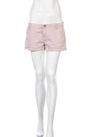 Дамски къс панталон Express, Размер M, Цвят Розов, 98% памук, 2% еластан, Цена 15,12лв.