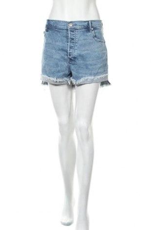 Дамски къс панталон Express, Размер XL, Цвят Син, 98% памук, 2% еластан, Цена 20,53лв.