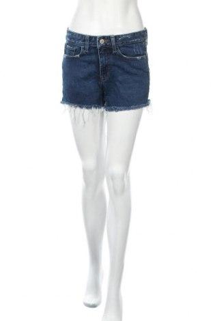 Дамски къс панталон Express, Размер S, Цвят Син, 94% памук, 4% полиестер, 2% еластан, Цена 16,07лв.