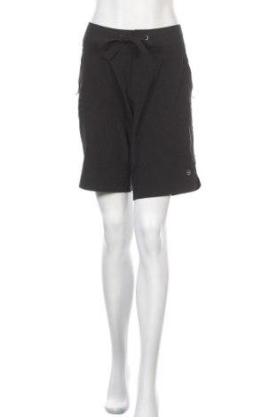 Дамски къс панталон Free Country, Размер L, Цвят Черен, 93% полиестер, 7% еластан, Цена 17,01лв.