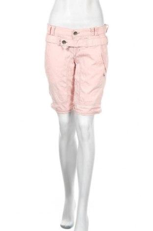Дамски къс панталон Freeman T. Porter, Размер M, Цвят Розов, Памук, Цена 26,88лв.