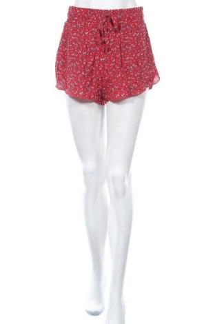 Γυναικείο κοντό παντελόνι Hollister, Μέγεθος M, Χρώμα Πολύχρωμο, Βισκόζη, Τιμή 11,11€