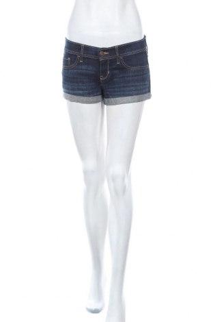 Γυναικείο κοντό παντελόνι Hollister, Μέγεθος S, Χρώμα Μπλέ, 98% βαμβάκι, 2% ελαστάνη, Τιμή 24,85€