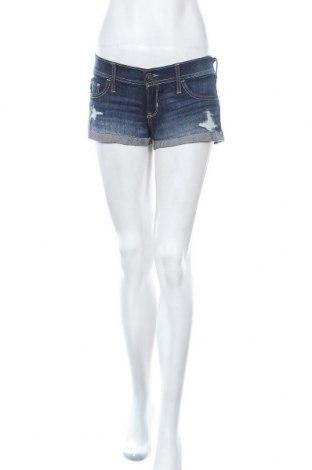 Γυναικείο κοντό παντελόνι Hollister, Μέγεθος S, Χρώμα Μπλέ, 98% βαμβάκι, 2% ελαστάνη, Τιμή 10,52€