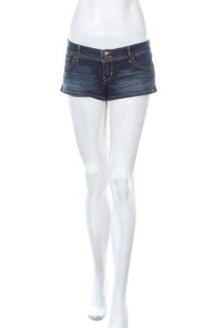 Γυναικείο κοντό παντελόνι Hollister, Μέγεθος M, Χρώμα Μπλέ, 99% βαμβάκι, 1% ελαστάνη, Τιμή 4,68€