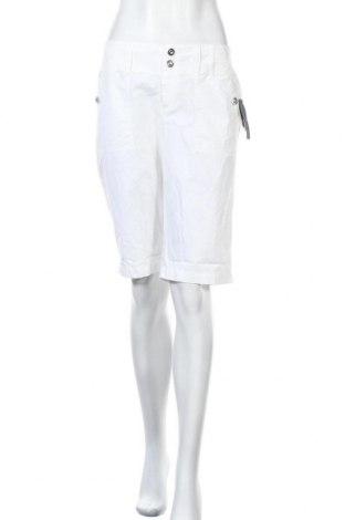 Дамски къс панталон INC International Concepts, Размер S, Цвят Бял, 97% памук, 3% еластан, Цена 33,18лв.