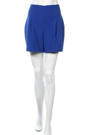 Дамски къс панталон INC International Concepts, Размер M, Цвят Син, 81% полиестер, 13% вискоза, 6% еластан, Цена 17,06лв.