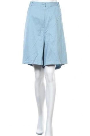 Дамски къс панталон L.L. Bean, Размер 3XL, Цвят Син, Памук, Цена 9,92лв.