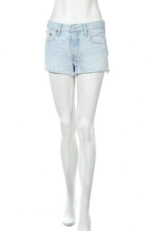 Дамски къс панталон Levi's, Размер M, Цвят Син, Памук, Цена 33,92лв.