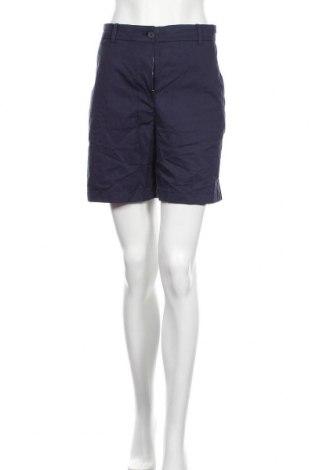 Γυναικείο κοντό παντελόνι Lacoste, Μέγεθος M, Χρώμα Μπλέ, 97% βαμβάκι, 3% ελαστάνη, Τιμή 15,59€