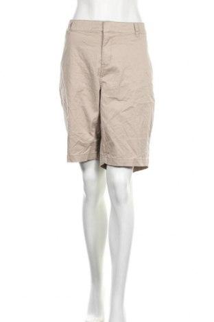 Дамски къс панталон Lane Bryant, Размер XXL, Цвят Бежов, 97% памук, 3% еластан, Цена 37,91лв.
