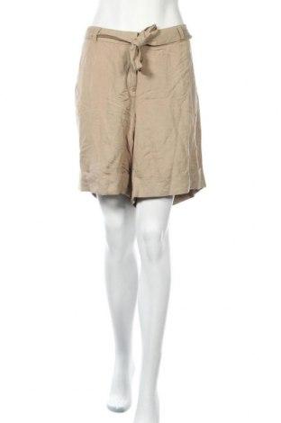 Дамски къс панталон Lane Bryant, Размер XL, Цвят Бежов, 55% лен, 45% вискоза, Цена 33,92лв.