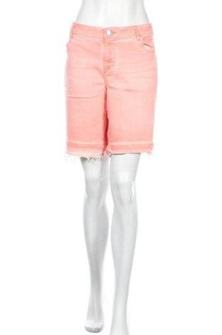 Дамски къс панталон Lane Bryant, Размер XL, Цвят Розов, 99% памук, 1% еластан, Цена 22,94лв.