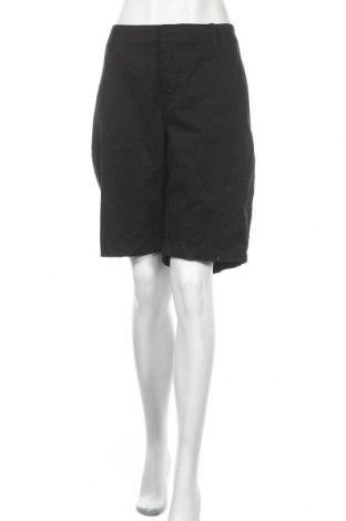 Дамски къс панталон Lane Bryant, Размер XXL, Цвят Черен, 97% памук, 3% еластан, Цена 37,80лв.