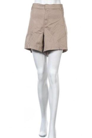 Дамски къс панталон Lane Bryant, Размер 3XL, Цвят Бежов, 97% памук, 3% еластан, Цена 41,90лв.