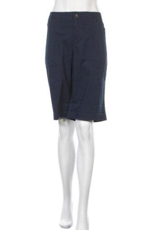 Дамски къс панталон Lane Bryant, Размер L, Цвят Син, 97% памук, 3% еластан, Цена 23,10лв.