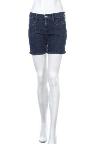 Дамски къс панталон Levi's, Размер S, Цвят Син, 99% памук, 1% еластан, Цена 27,41лв.