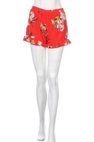 Дамски къс панталон Love & Other Things, Размер S, Цвят Червен, Полиестер, Цена 7,25лв.