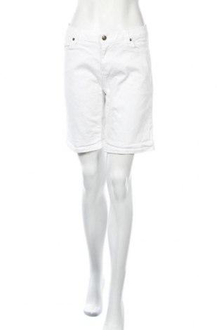 Дамски къс панталон MICHAEL Michael Kors, Размер L, Цвят Бял, 98% памук, 2% еластан, Цена 60,85лв.