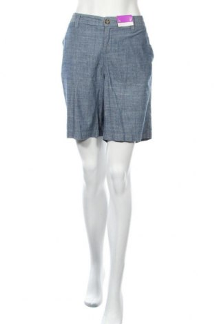 Дамски къс панталон Merona, Размер XL, Цвят Син, Памук, Цена 29,40лв.