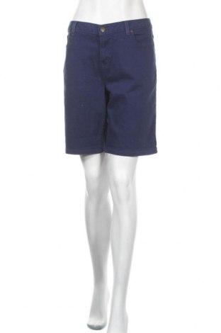 Дамски къс панталон Michael Kors, Размер L, Цвят Син, 98% памук, 2% еластан, Цена 64,05лв.