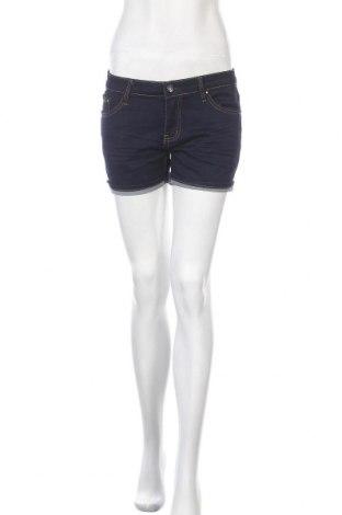 Дамски къс панталон Miss Anna, Размер M, Цвят Син, 75% памук, 24% полиестер, 1% еластан, Цена 9,24лв.
