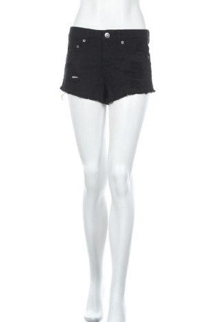 Дамски къс панталон Mudd, Размер S, Цвят Черен, Памук, Цена 17,96лв.