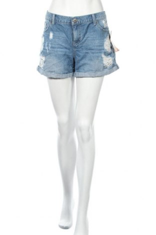 Дамски къс панталон Mudd, Размер XL, Цвят Син, Памук, Цена 42,53лв.