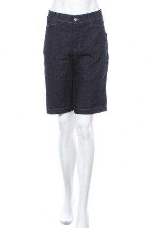 Дамски къс панталон NYDJ, Размер L, Цвят Син, 80% памук, 19% полиестер, 11% еластан, Цена 7,14лв.