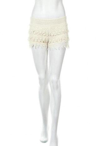Дамски къс панталон Others Follow, Размер S, Цвят Екрю, Памук, Цена 18,90лв.