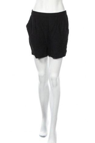 Γυναικείο κοντό παντελόνι Pieces, Μέγεθος L, Χρώμα Μαύρο, Τιμή 11,72€
