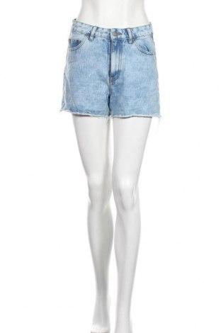 Γυναικείο κοντό παντελόνι Pieces, Μέγεθος S, Χρώμα Μπλέ, 100% βαμβάκι, Τιμή 12,34€