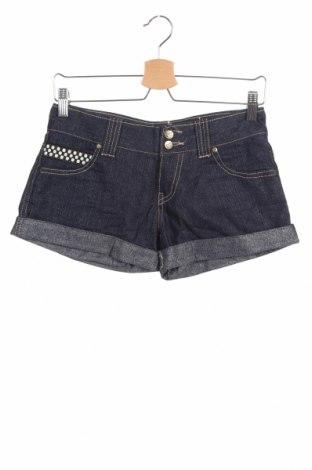Дамски къс панталон Roxy, Размер S, Цвят Син, Цена 12,97лв.