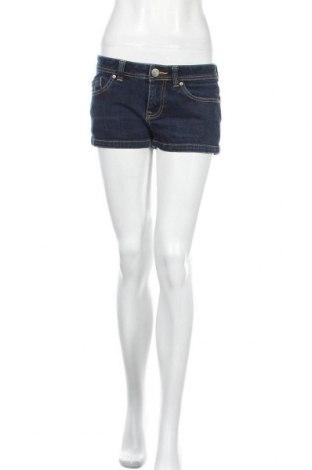 Дамски къс панталон Roxy, Размер M, Цвят Син, 98% памук, 2% еластан, Цена 13,97лв.