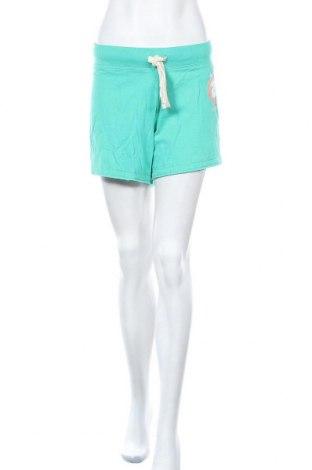 Дамски къс панталон Shamp, Размер L, Цвят Зелен, 60% памук, 40% полиестер, Цена 8,03лв.