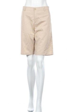Дамски къс панталон Slazenger, Размер L, Цвят Бежов, 65% памук, 35% полиестер, Цена 17,85лв.