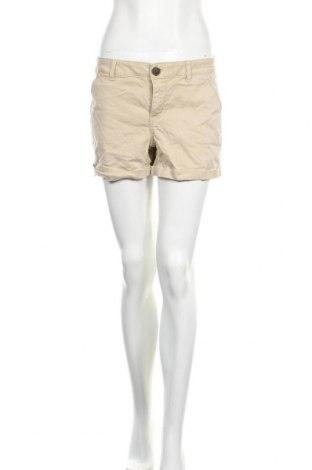 Дамски къс панталон So, Размер M, Цвят Бежов, 61% памук, 37% лиосел, 2% еластан, Цена 9,24лв.