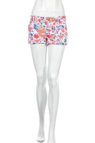 Дамски къс панталон So, Размер S, Цвят Многоцветен, 98% памук, 2% еластан, Цена 11,03лв.