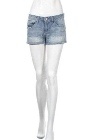 Дамски къс панталон So, Размер M, Цвят Син, 79% памук, 20% полиестер, 1% еластан, Цена 18,90лв.