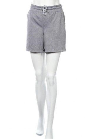 Дамски къс панталон Sports Performance by Tchibo, Размер M, Цвят Сив, Полиестер, Цена 6,62лв.