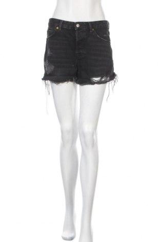 Дамски къс панталон Topshop, Размер M, Цвят Черен, Памук, Цена 18,95лв.