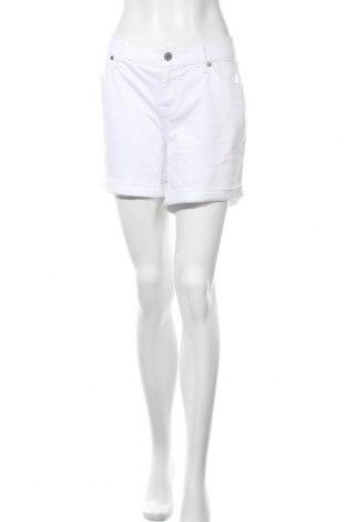 Дамски къс панталон Torrid, Размер XL, Цвят Бял, 98% памук, 2% еластан, Цена 8,14лв.