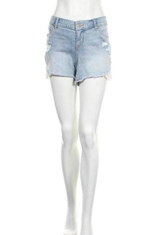 Дамски къс панталон Torrid, Размер XL, Цвят Син, 98% памук, 2% еластан, Цена 11,03лв.