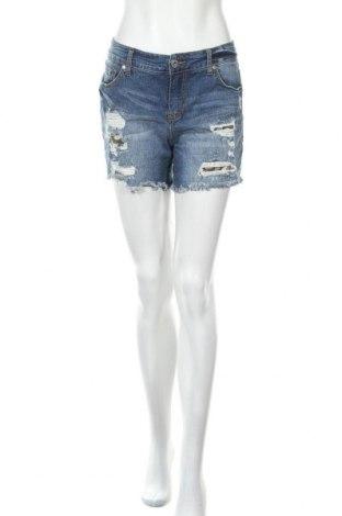 Дамски къс панталон Torrid, Размер M, Цвят Син, 98% памук, 2% еластан, Цена 17,01лв.